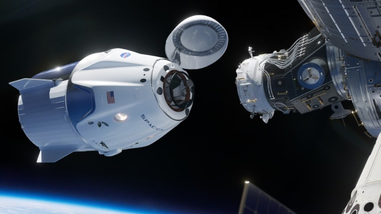 Cápsula de SpaceX se acopló a la Estación Espacial Internacional