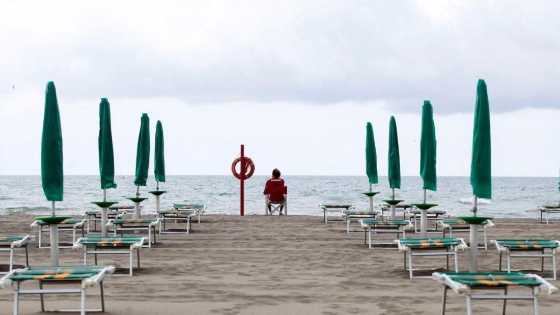 Italia reabrió sus playas