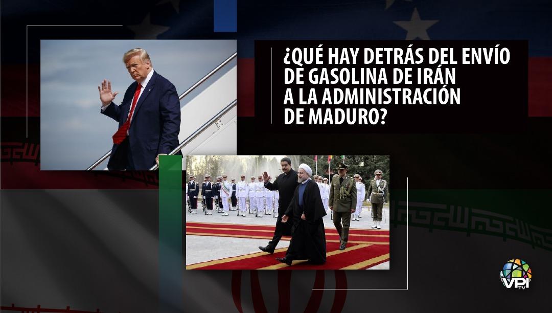 ¿Qué hay detrás del envío de gasolina de Irán a la administración de Maduro Foto VPITV