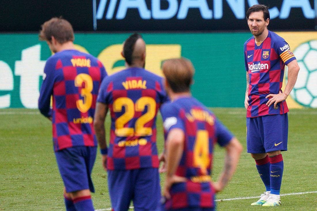 FC Barcelona empató y cede puntos al Real Madrid en Liga Española