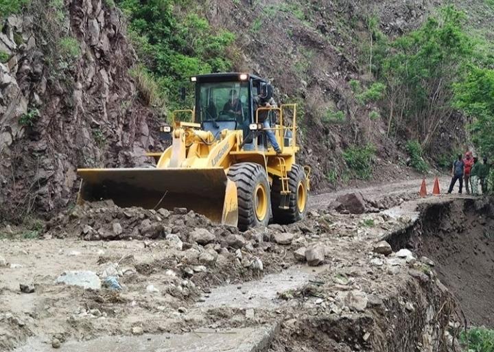 Mérida deslizamientos de rocas
