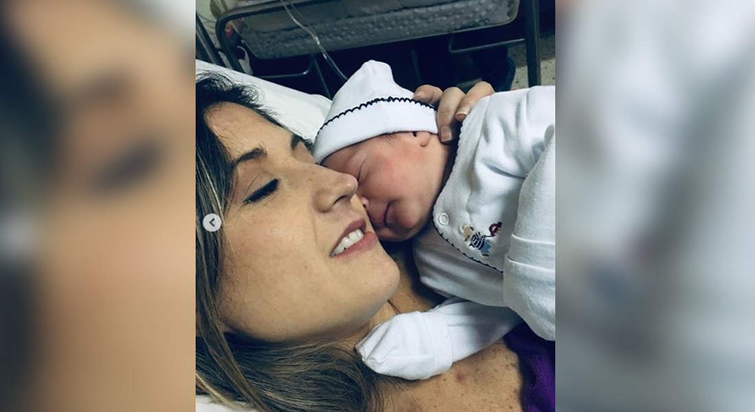 Aisha Stambouli ya es madre