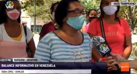 Familiares de privados de libertad en Anzoátegui