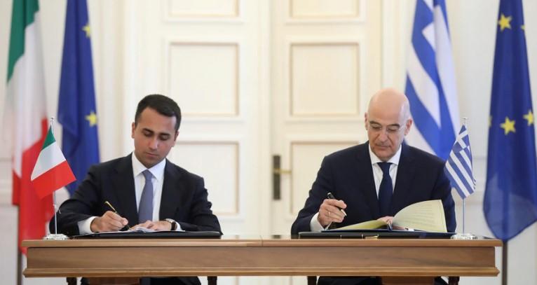 Italia y Grecia firmaron acuerdo