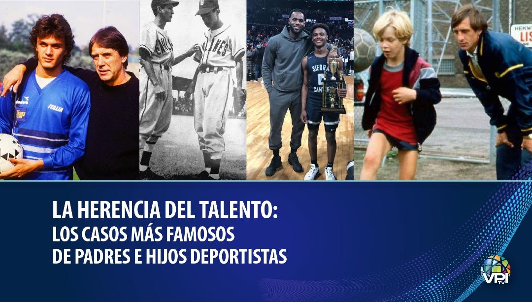 La herencia del talento Los casos más famosos de padres e hijos deportistas