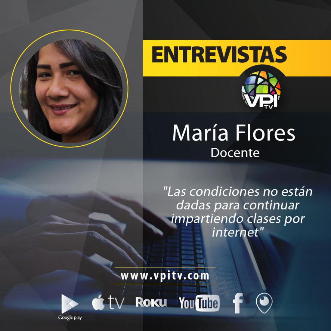 Profesora María Flores