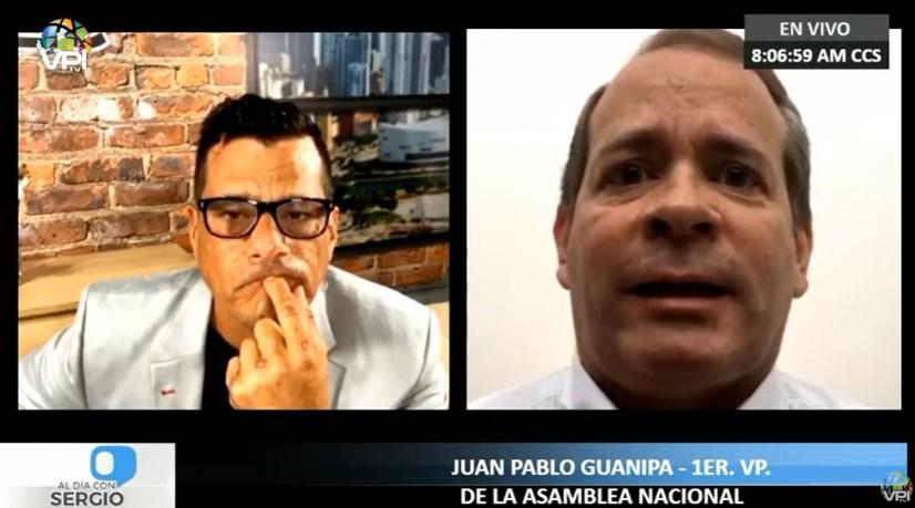 """Guanipa: """"Hay recomponer la unidad y lanzar nueva estrategia para lograr el cambio en Venezuela"""""""