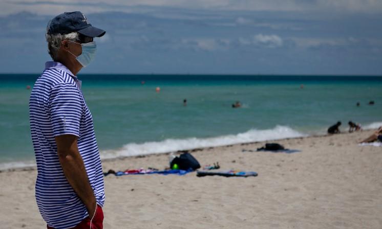 Cierre de playas en Miami-Dade tras repunte de contagios por covid-19