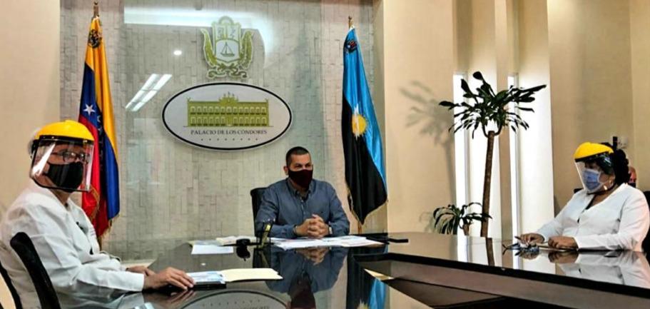 Gobernador del Zulia detalló distribución de contagios por covid-19 en la región
