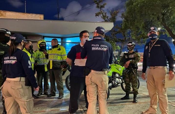 Detenido venezolano en Bogotá por tráfico de migrantes