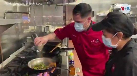 Francisco Mendoza en El Sushi Loco