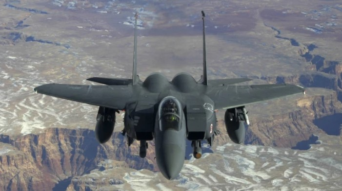 Avión militar estadounidense en Reino Unido se estrelló en el mar del Norte europeo