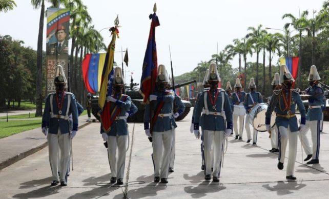Actos militares en el Campo de Carabobo este miércoles 24 de junio de 2020