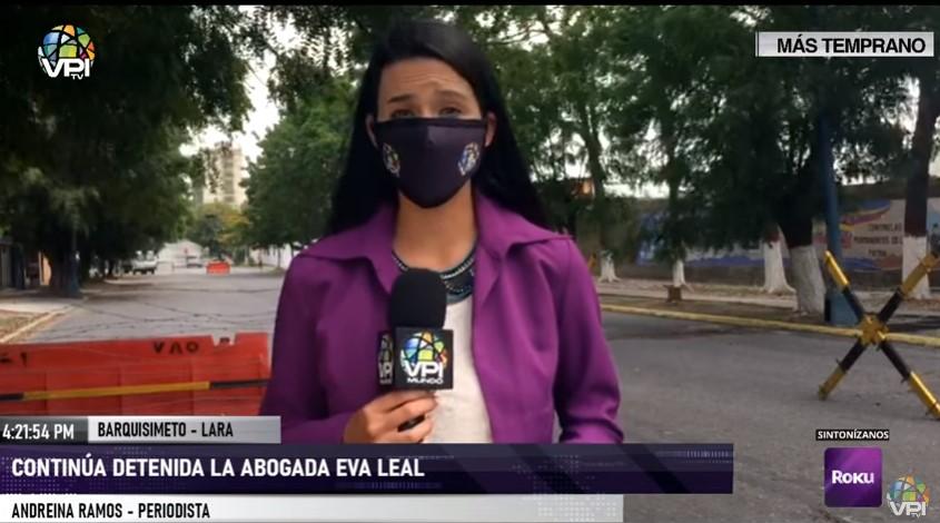 """Abogada Eva Leal fue trasladada a tribunal militares acusada del delito de """"ultraje a centinela"""""""