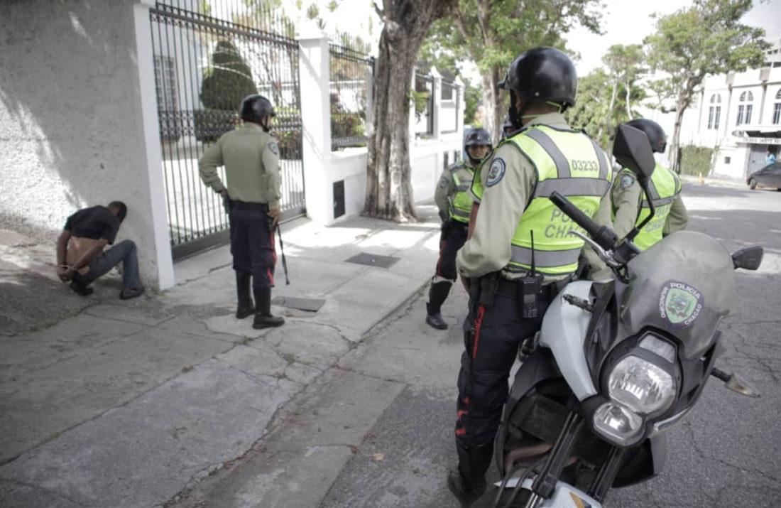 Frustraron robo a quinta en el municipio Chacao