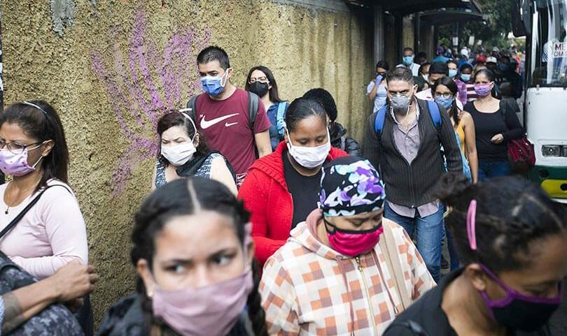 96 nuevos casos de covid-19 en Venezuela: cifra se ubicó en 2.473