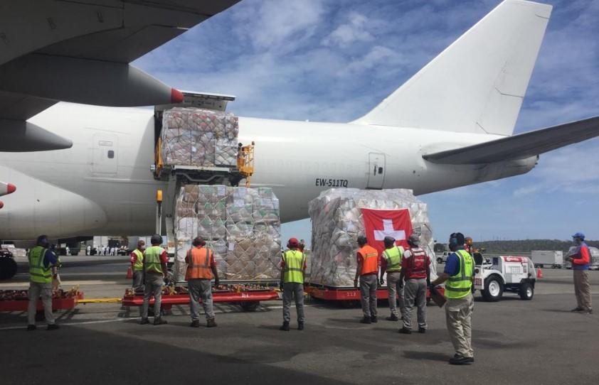 94 toneladas de ayuda humanitaria arribaron a Venezuela