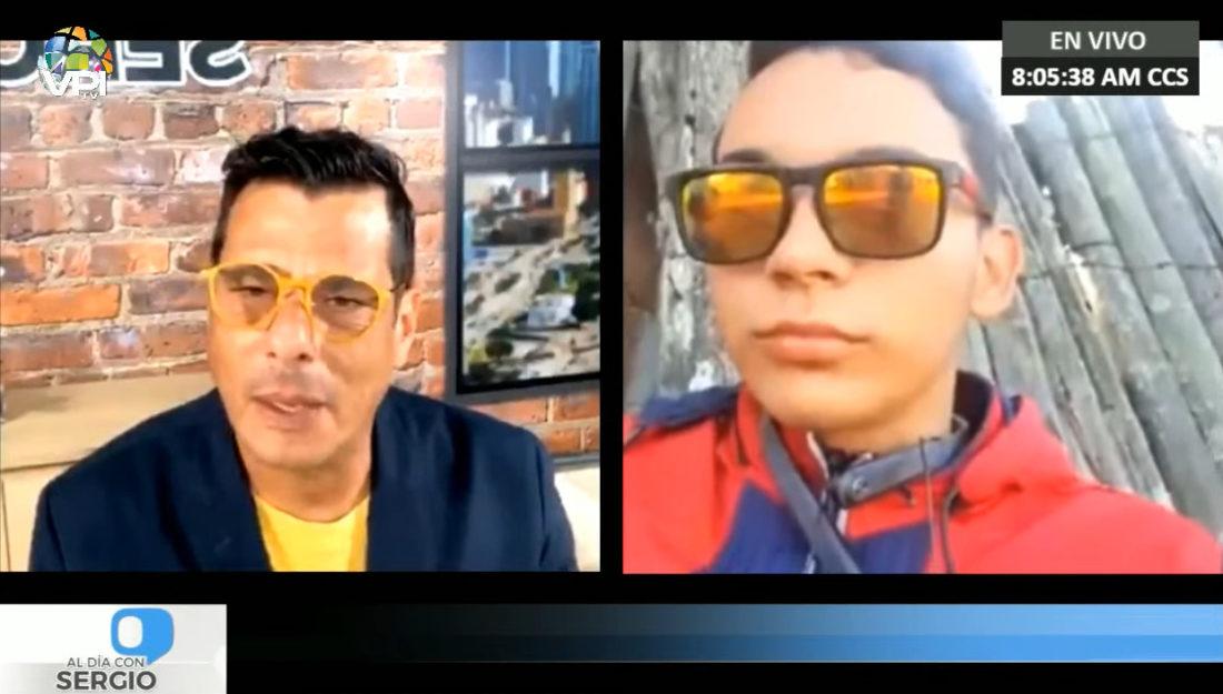 Rufo Chacón expresó su fe por recuperar la vista