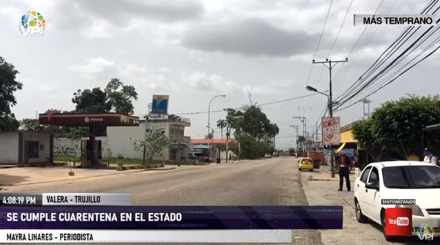 Habitantes de Trujillo cumplen con la cuarentena