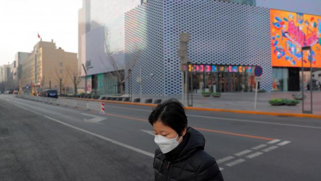 pekín con coronavirus