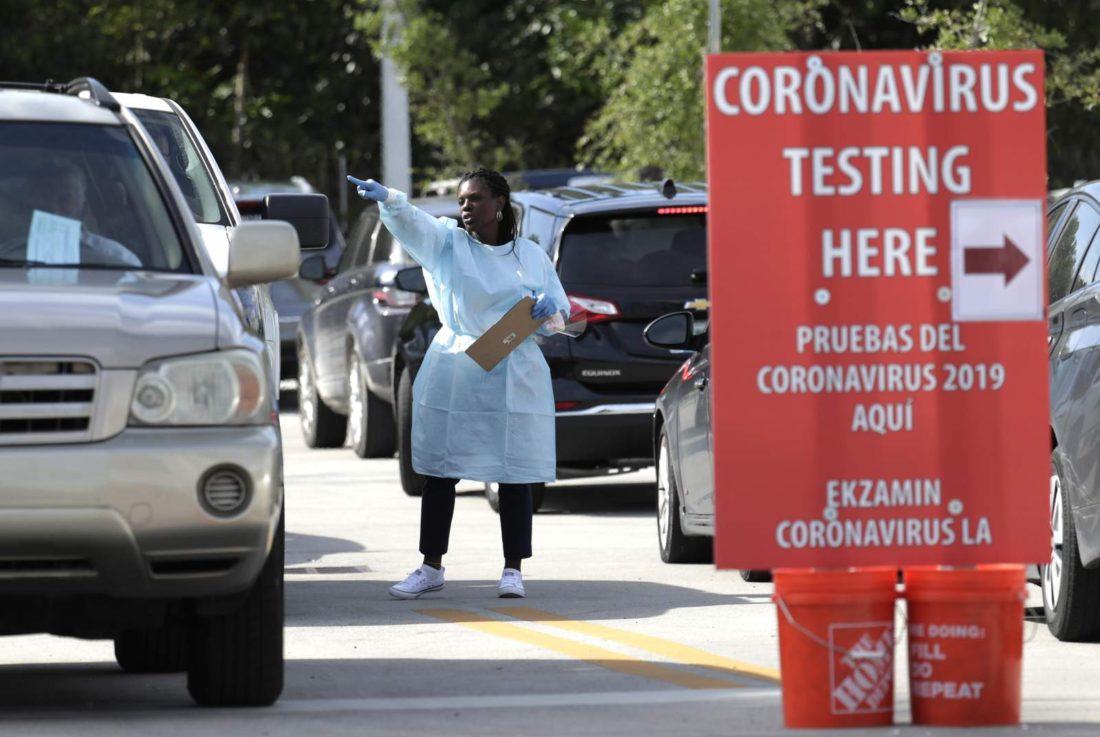 Cifra récord: Florida (EEUU) registró 3.207 nuevos casos de covid-19