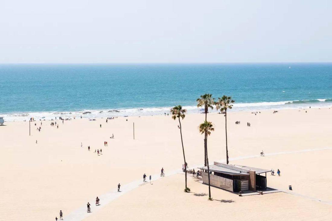 Covid-19 cerrarán playas en Los ángeles