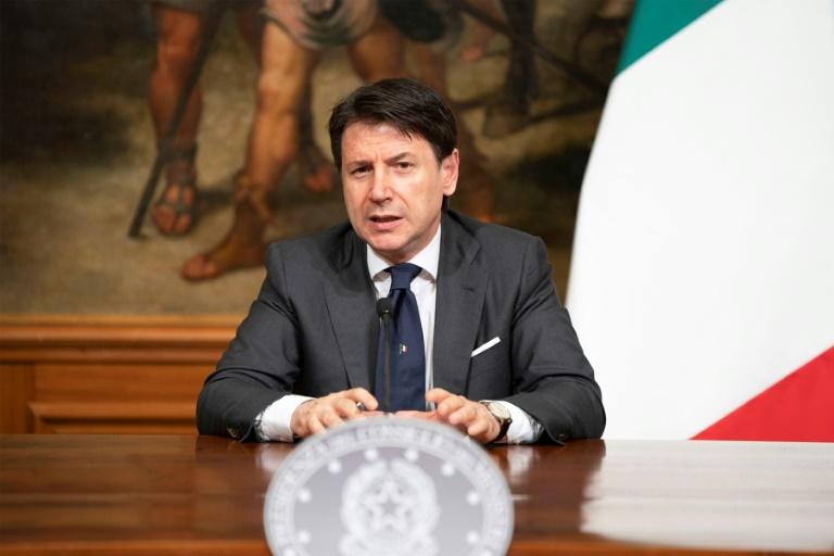 Giuseppe Conte - Ministro