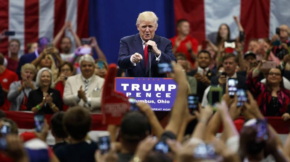Donald Trump - Mítin