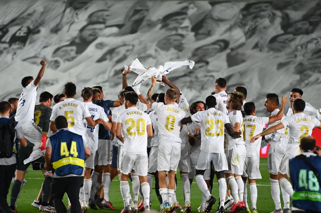 Real Madrid se alzó con un nuevo título de la Liga Española