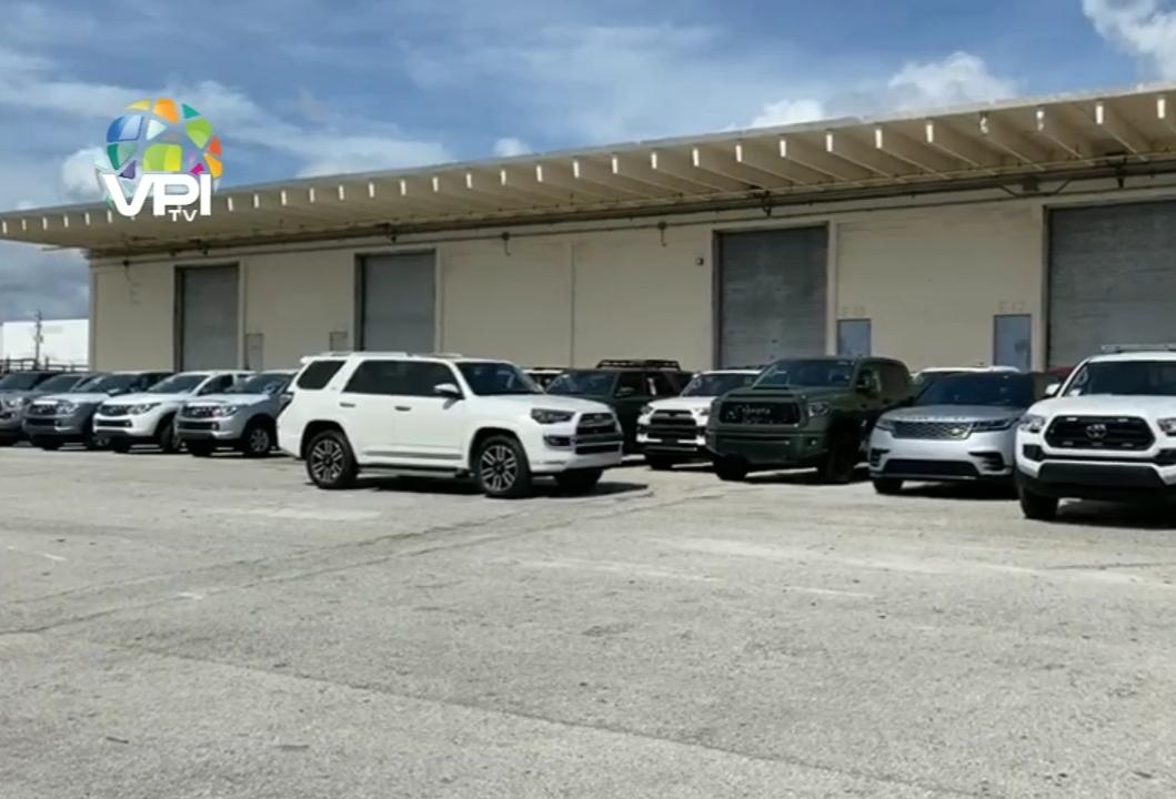 81 vehículos incautados en Florida (EEUU) comprados por administración de Maduro