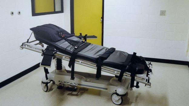 En esta cama Daniel Lewis Lee fue ejecutado