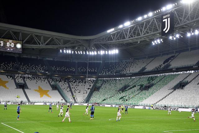 """Fútbol italiano no tendrá público en los estadios """"al menos"""" hasta septiembre"""