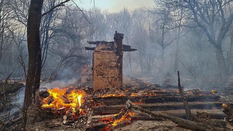 Incendios en Chernóbil, Ucrania