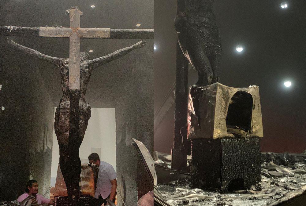 Sujeto causó terror al arrojar una bomba en un templo de Nicaragua