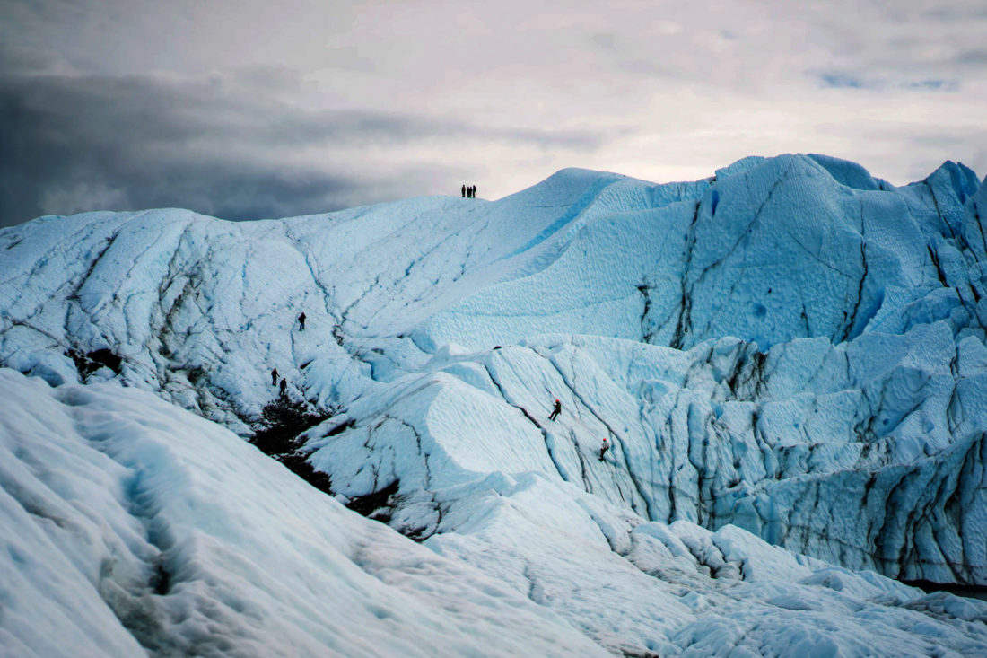 Glaciar italiano