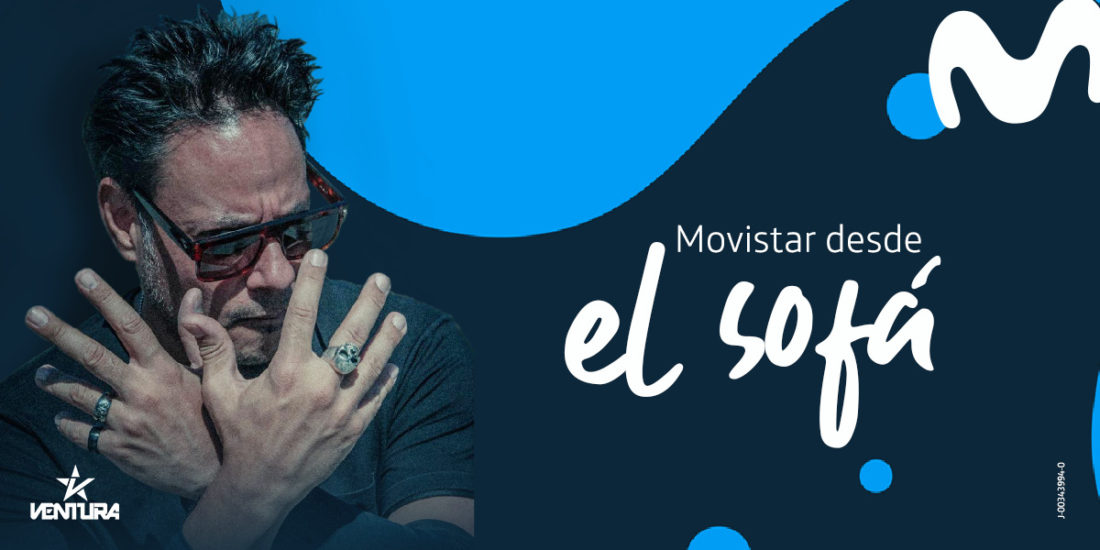 Movistar transmitirá este miércoles conciertos virtuales en tiempo de cuarentena
