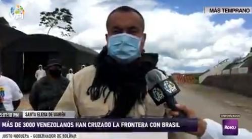 Venezolanos ingresaron por la frontera de Brasil
