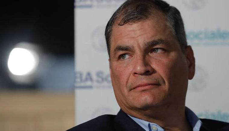 Justicia de Ecuador ratificó sentencia de ocho años de cárcel contra expresidente Rafael Correa