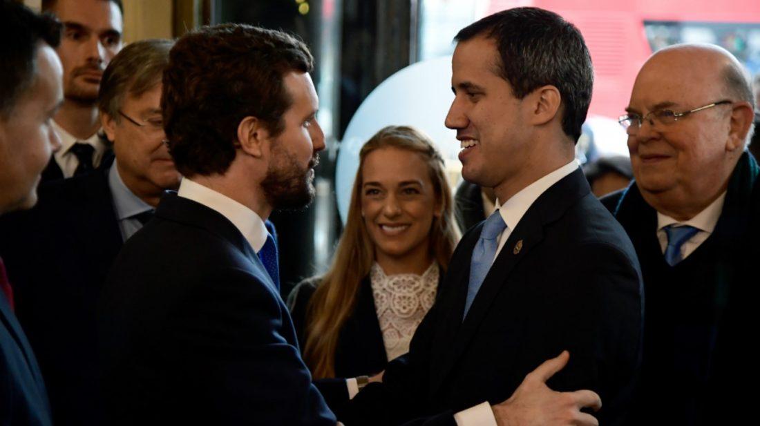 Partido Popular (PP) de España rechazó intervención de Voluntad Popular vía TSJ leal a Maduro
