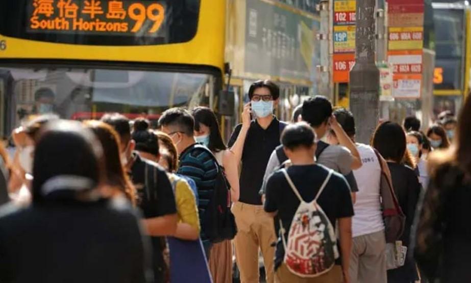 Tercera ola de covid-19 en Hong Kong tras récord de casos