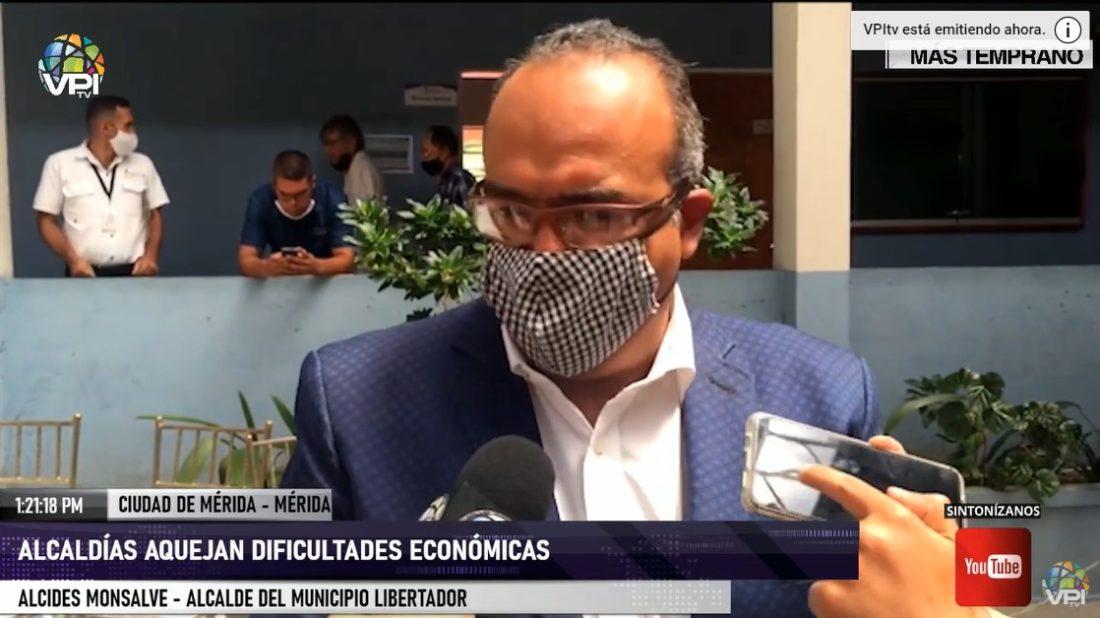 Municipio Libertador de Mérida enfrenta dificultades económicas en medio de la pandemia
