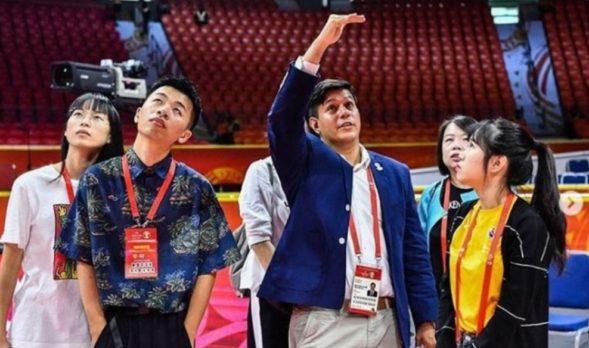 Su cargo en la FIBA lo ha llevado a diferentes partes del mundo