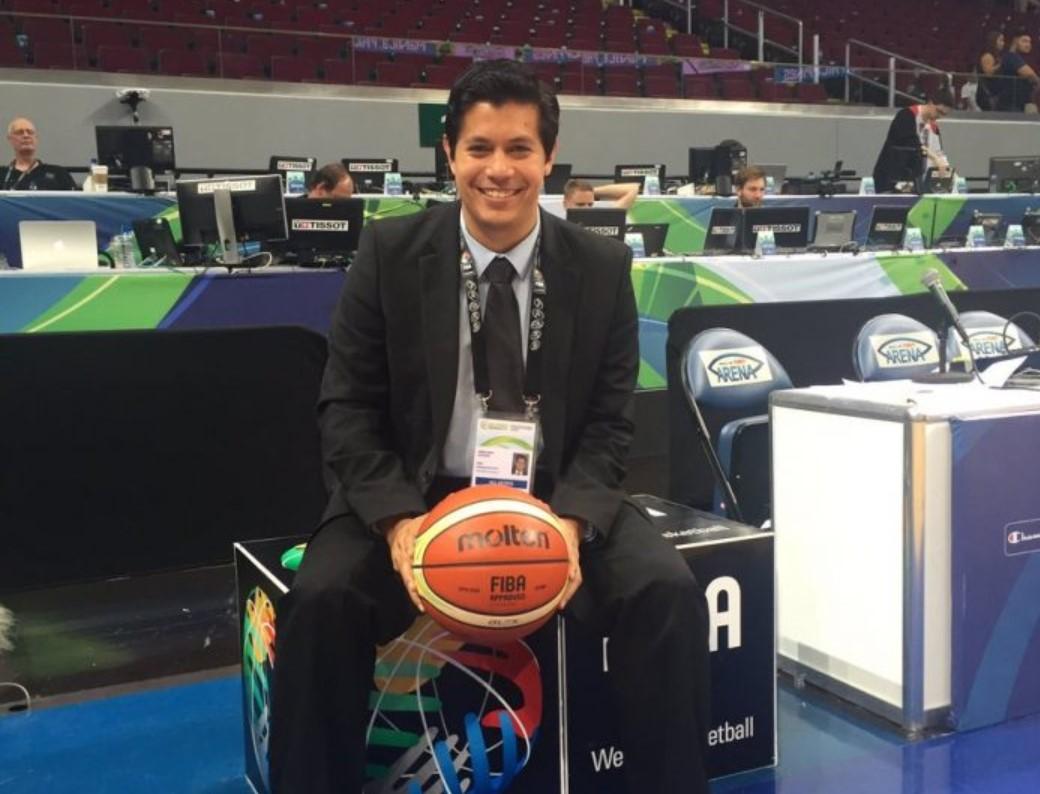 Gustavo Arellano, un venezolano en la jefatura de Desarrollo Comercial de la FIBA