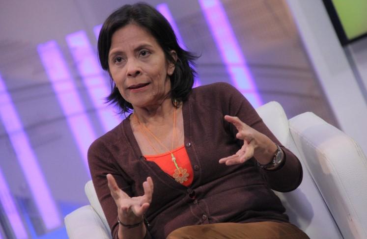 Sandra Oblitas fue designada por Maduro como nueva rectora de la UBV