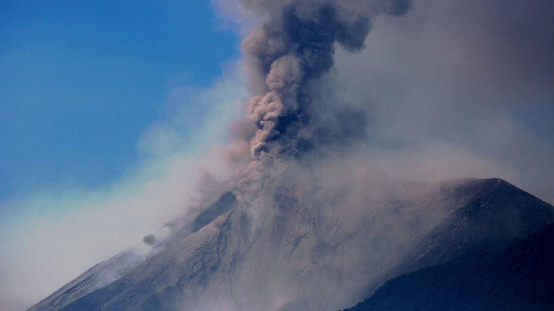 Guatemala Volcán de Fuego