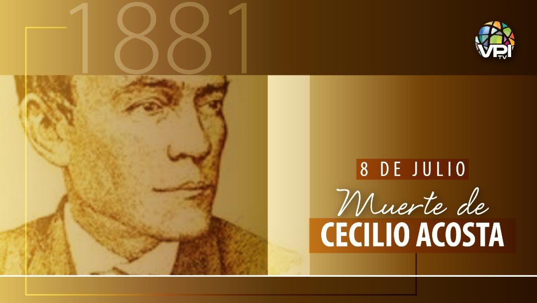 Muerte Cecilio Acosta