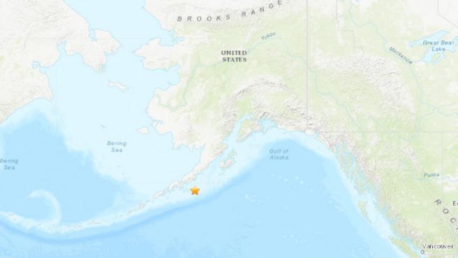 Terremoto en Alaska