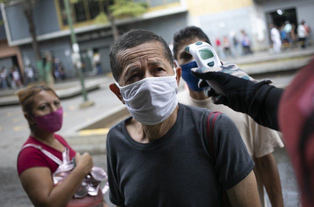 Venezuela 820 nuevos casos