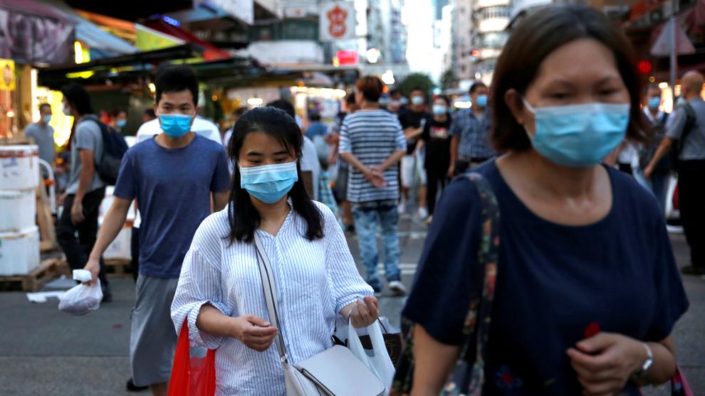 Detectaron primera reinfección por coronavirus en Hong Kong