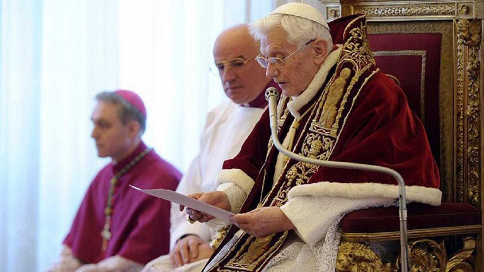Renunció Benedicto XVI
